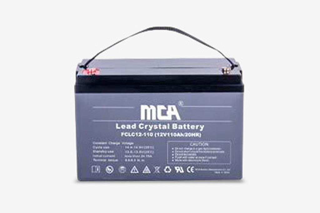 Batería de Crystal Lead FCLC12-110