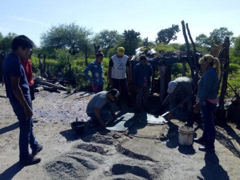 En la comunidad de Piruaj Bajo de Santiago del Estero reciben agua a partir de una bomba solar