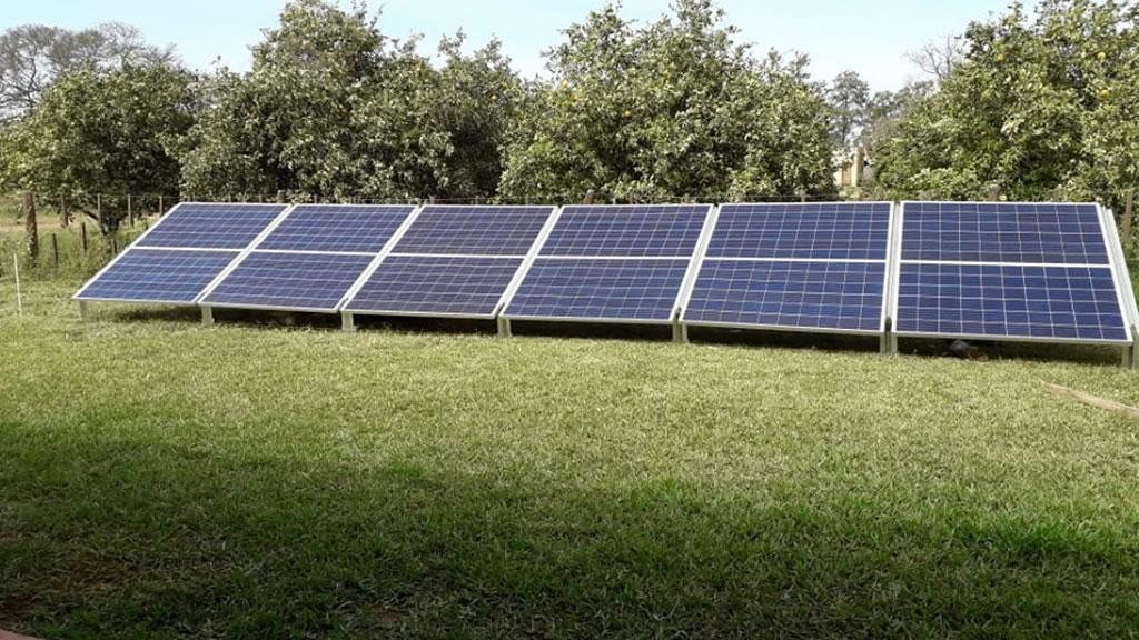 Instalación de Sistema fotovoltaico Off Grid en Apolinario Saravia, Salta.