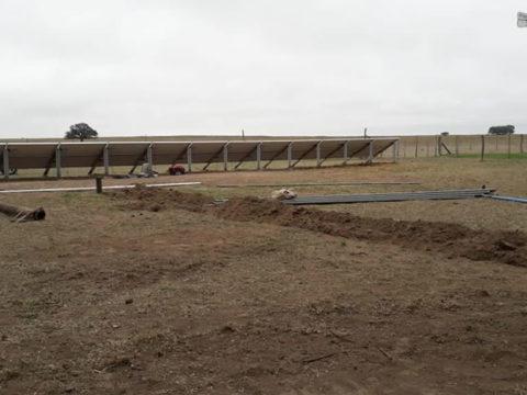Iniciamos obra en San Luis. Instalaremos una  bomba solar Lorentz PS2 4000
