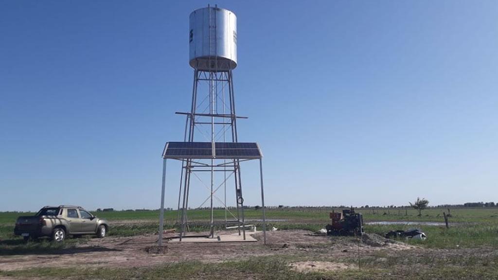 Nueva instalación de bombeo solar Lorentz