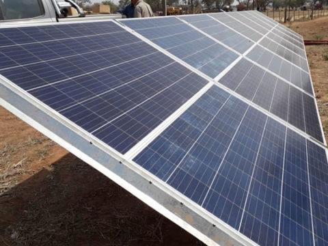 Nueva instalación de sistema Lorentz de bombeo solar en Anta, provincia de Salta