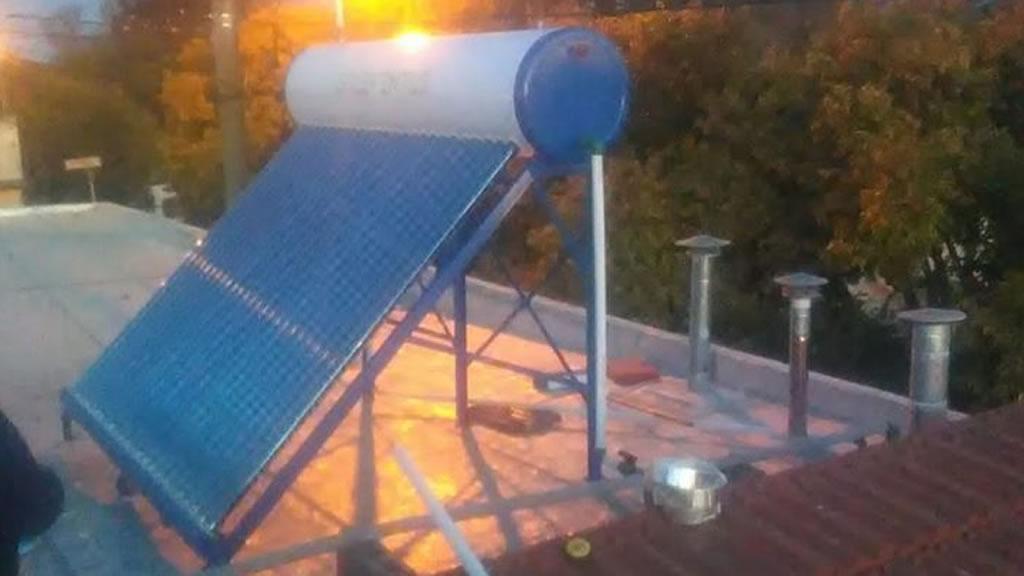 Nueva instalación, termosolar 300 litros con certificación de Solar Keymark