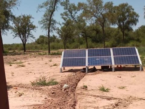 Nueva instalación de sistema fotovoltaico en Chaco salteño, Finca La Opción 17