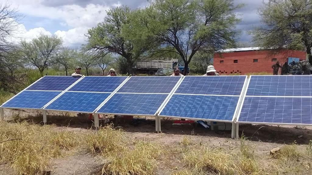 Se culminó la instalación de un PS2 1800 en Los Cerrillos EEA INTA La Rioja