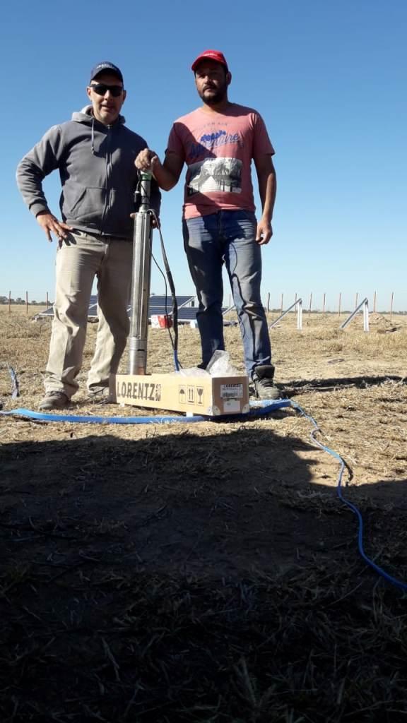 Bombeo solar para planteo ganadero