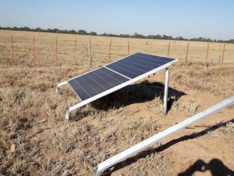Nuevo sistema de bombeo solar para planteo ganadero