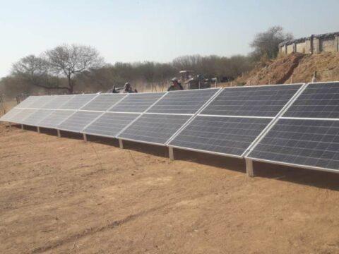 Nuevo sistema de bombeo solar instalado en Coronel Cornejo, Salta