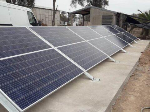 Sistema off grid en provincia de Santiago del Estero