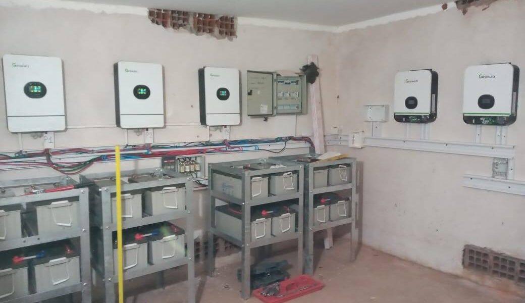 Obra de ampliación y reemplazo de banco de baterías