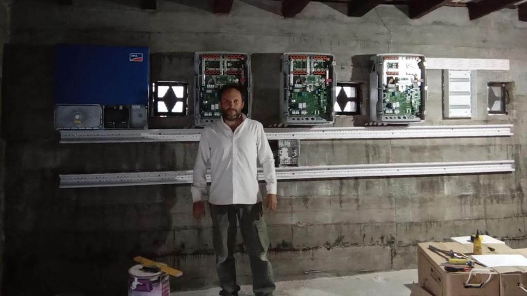 Continuamos trabajando en sistema Off Grid SMA en Establecimiento ganadero provincia de Salta