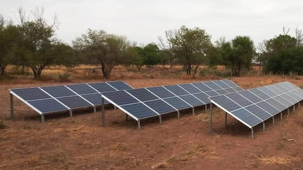 Electrificación de casco central de finca en Chaco salteño